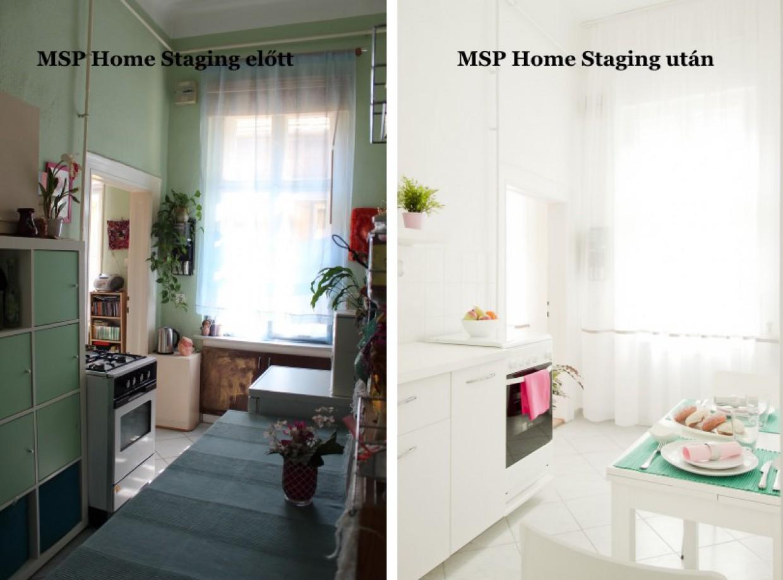 Újabb Home Staging előtte-utána képek