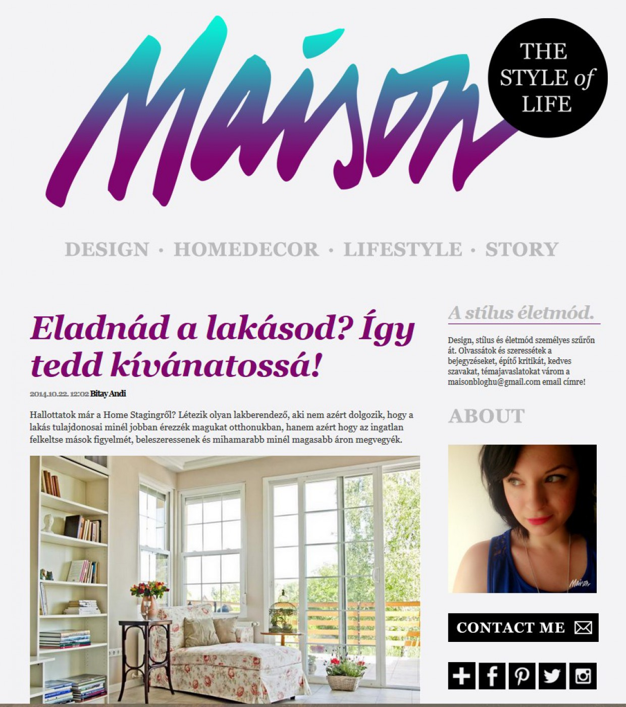 MSP Home Staging a Maison blogban!
