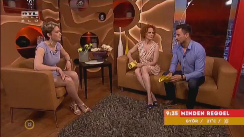 MSP design az RTL reggeli műsorában