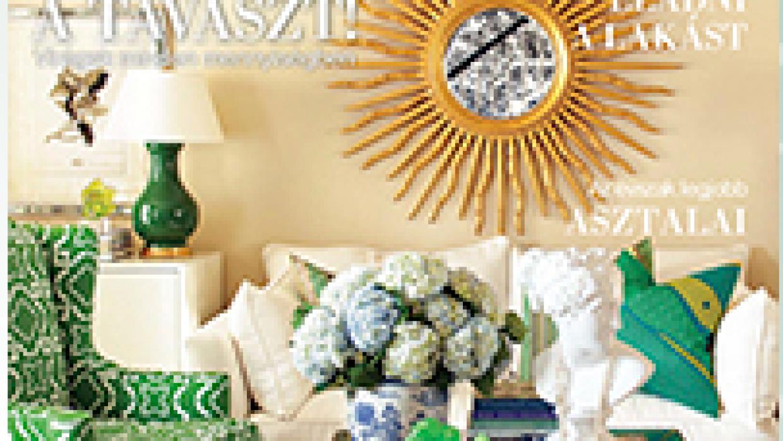 Home Staging – Eladósorba kerülvén c. cikk a Polgári Otthonban