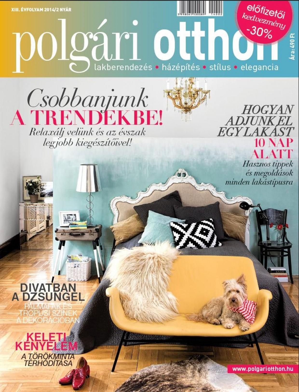 Home Staging cikk 2. része a Polgári Otthon Magazinban!